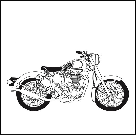 Royal enfield clipart 3 » Clipart Station.