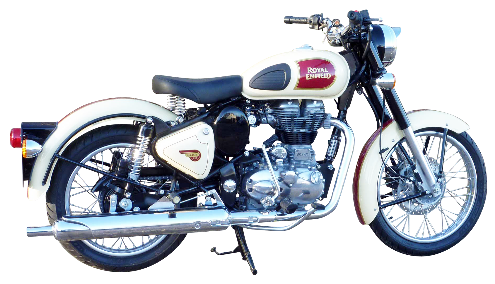 Royal Enfield Classic 500 PNG Image.