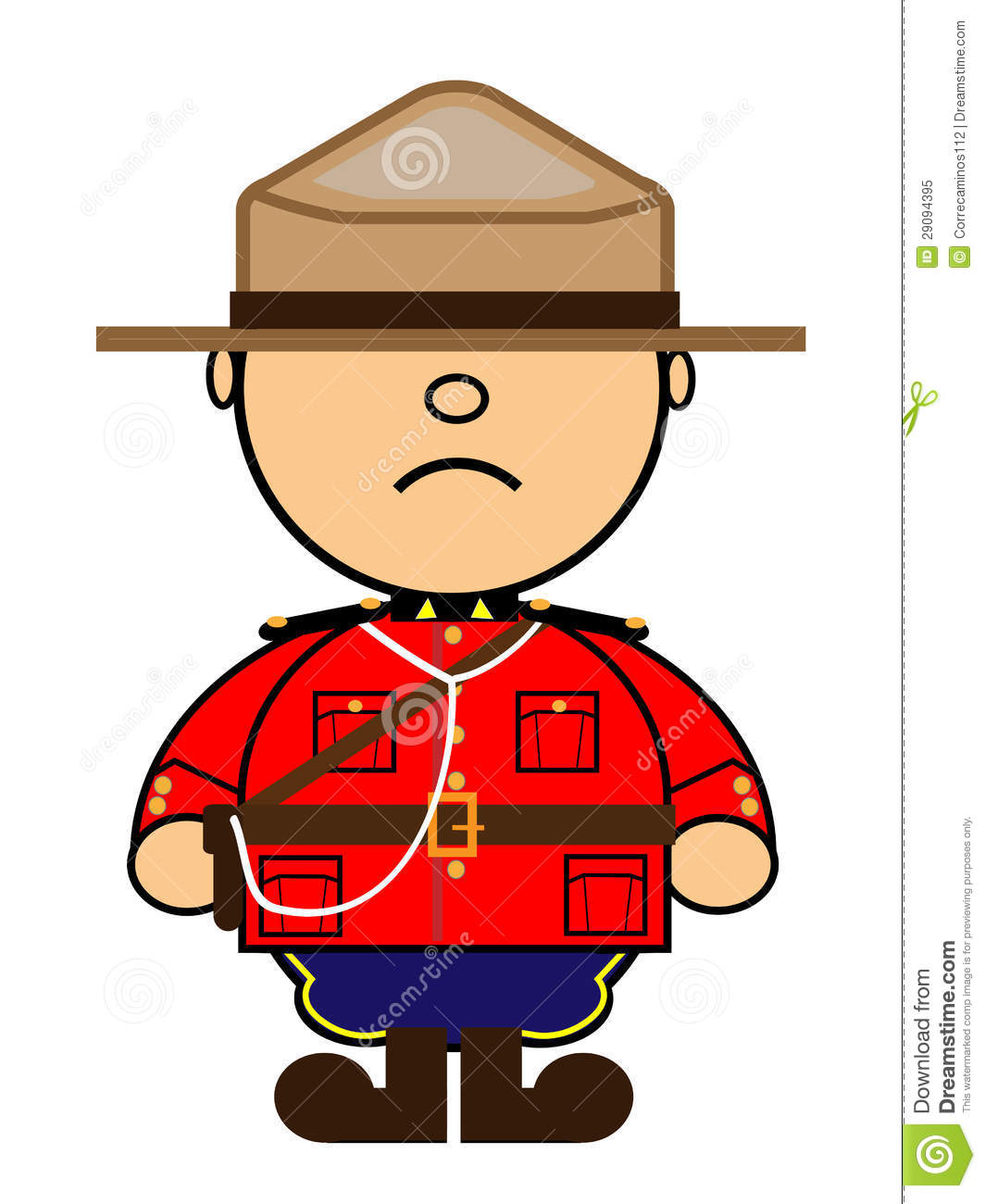 Mounted police clipart.