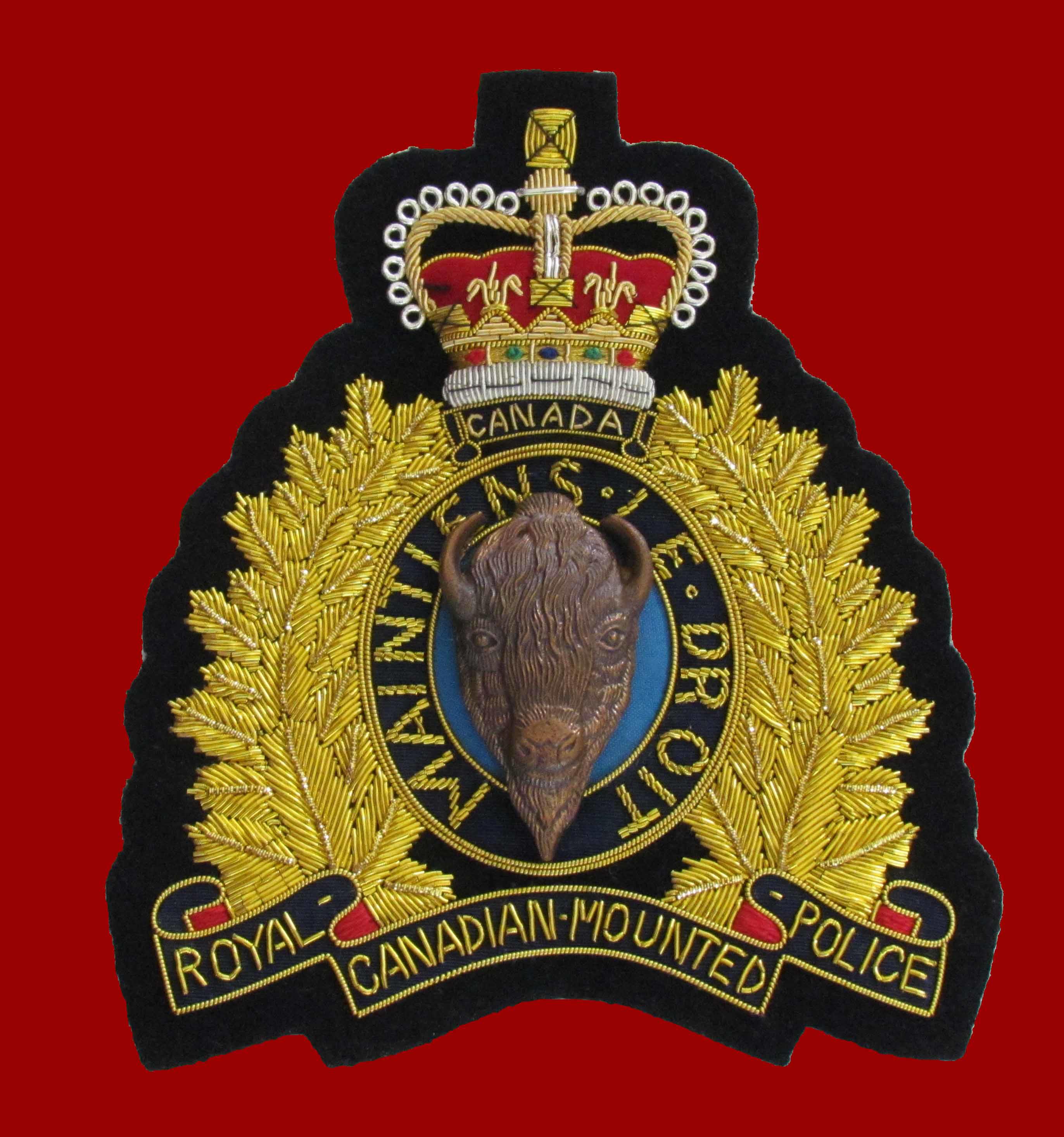 royal canadian mounted police hat k.