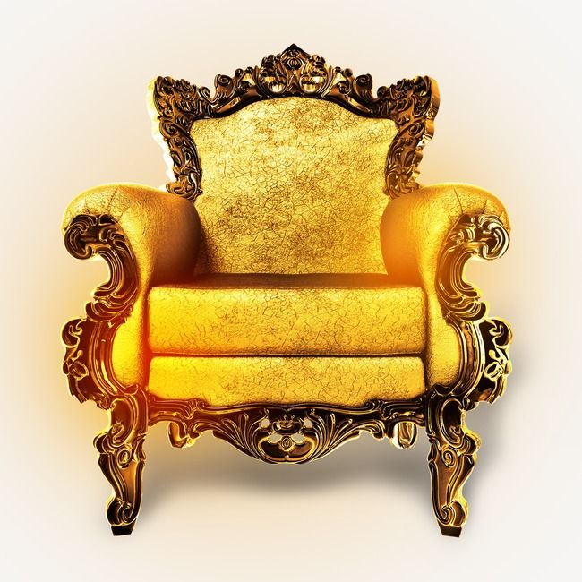 Throne, Seat, Chair PNG Transparent Clipart Image and PSD.