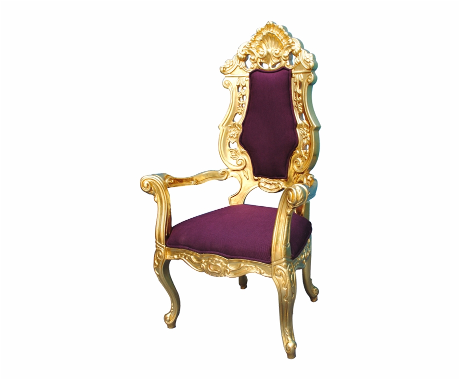 Perfect King Used Chairs For Royal With Crown Throne.