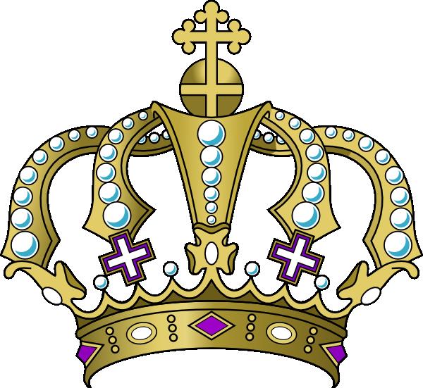 Royal Crown Clipart Transparent Background.