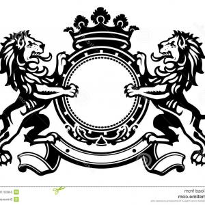 Stock Illustration Luxury Boutique Royal Crest High.