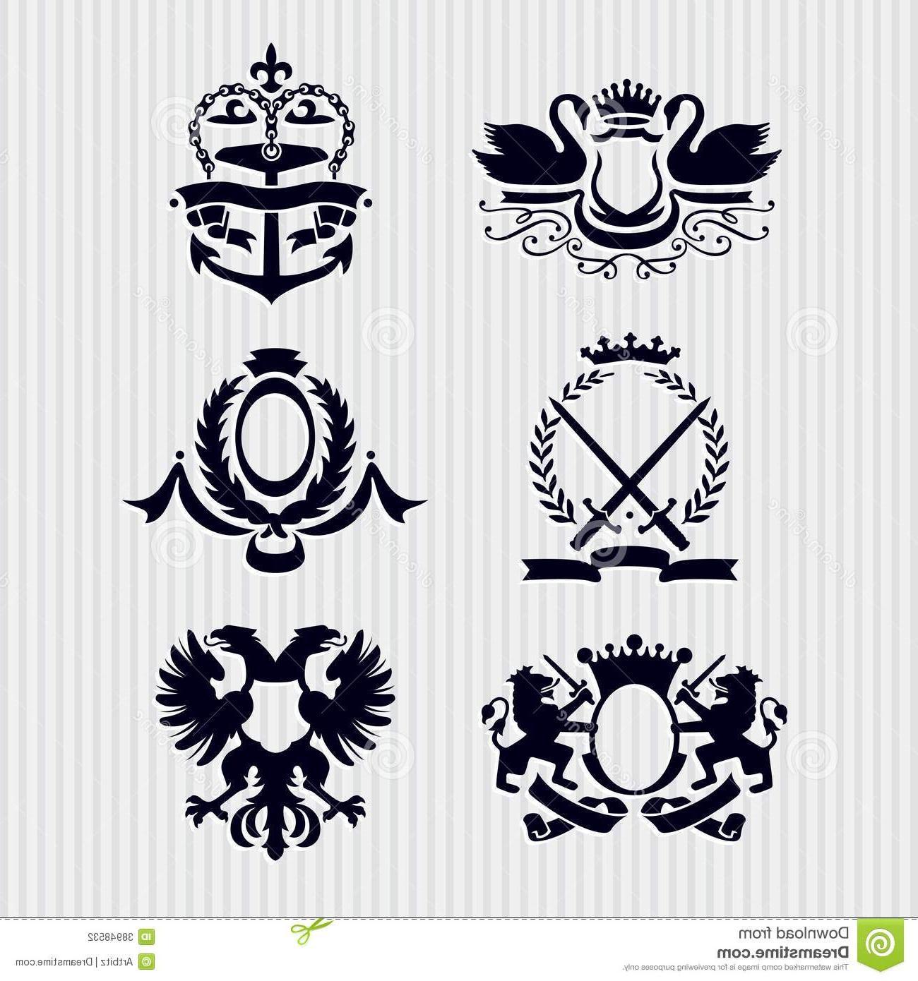 Best Free Royal Crest Clip Art Images » Free Vector Art.