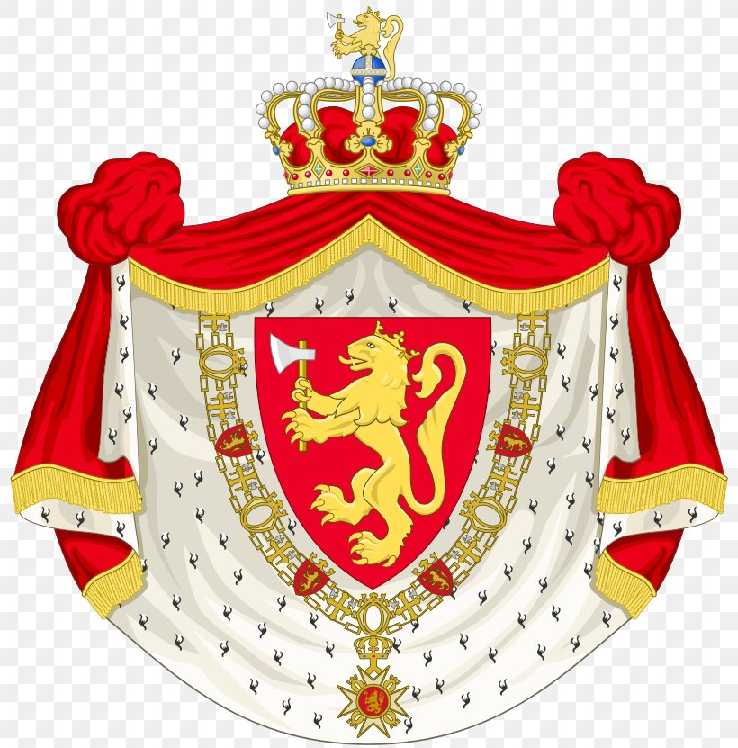 Coat Of Arms Of Norway Union Between Sweden And Norway Royal.