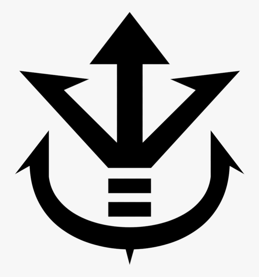 Dragon Ball The Saiyan Royal Crest Of Vegeta From Logo.