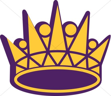 Gold Royal Crown Clipart.