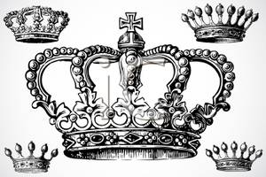 Crown black and white black and white royal crowns clip art.