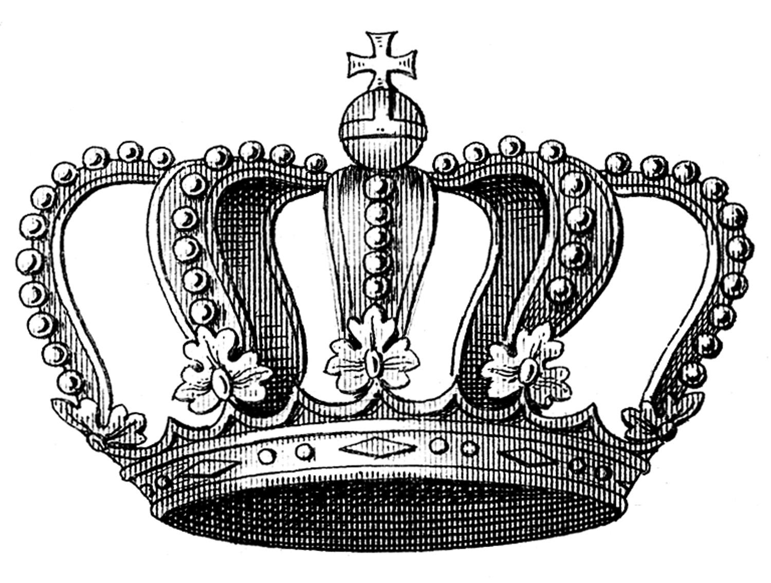 Clipart royal crown silhouette.