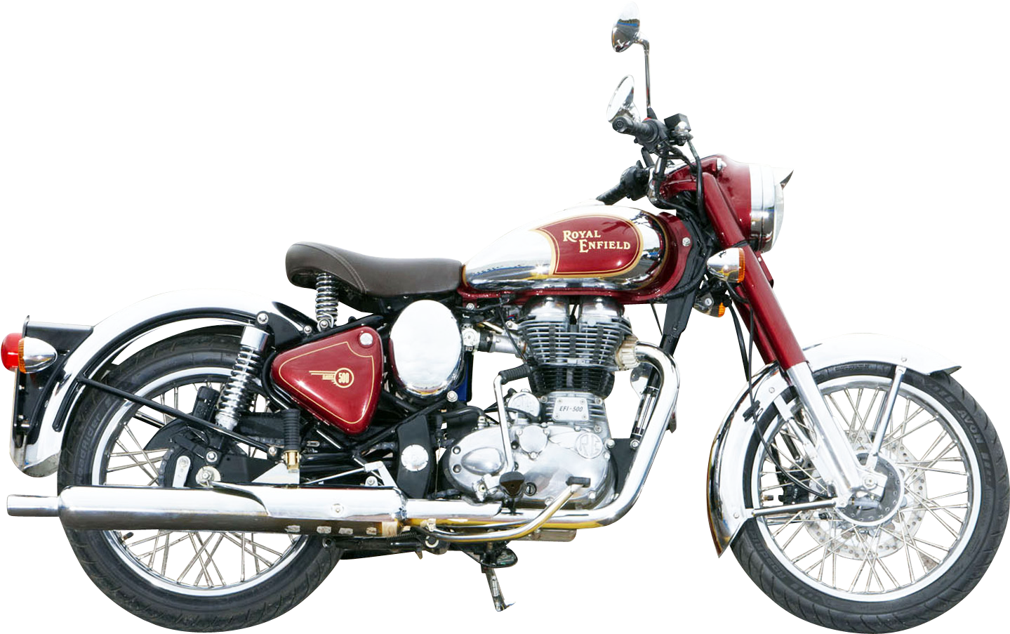 HD Royal Enfield Bullet Png.