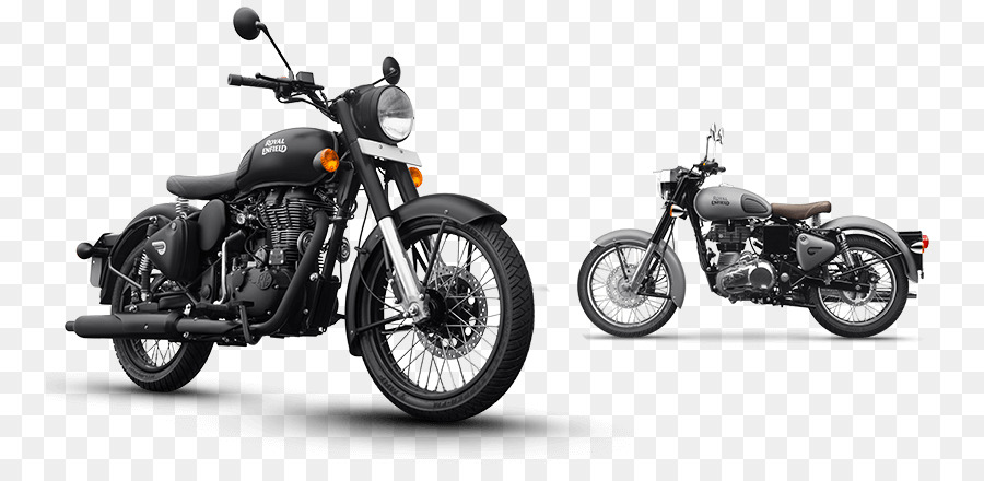 Royal Enfield Motorcycle png download.