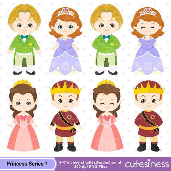 Princess Digital Clipart Princess Clipart Royal family.