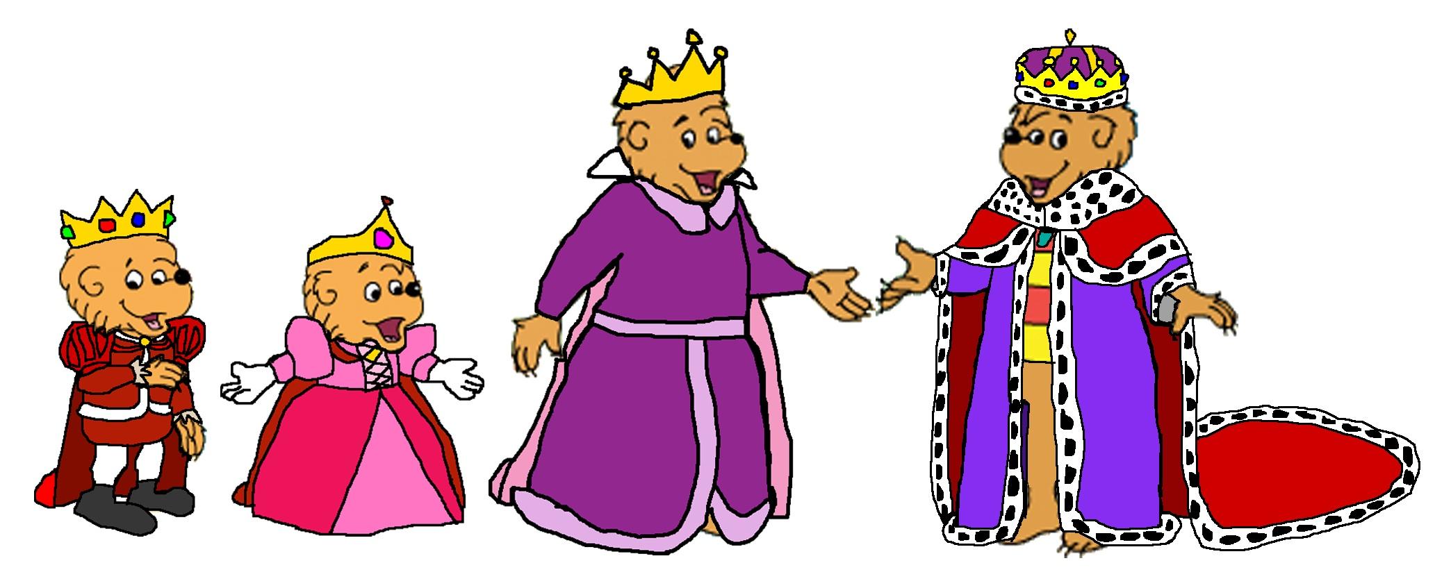 Berenstain Bears Royal Family by KingLeonLionheart on DeviantArt.