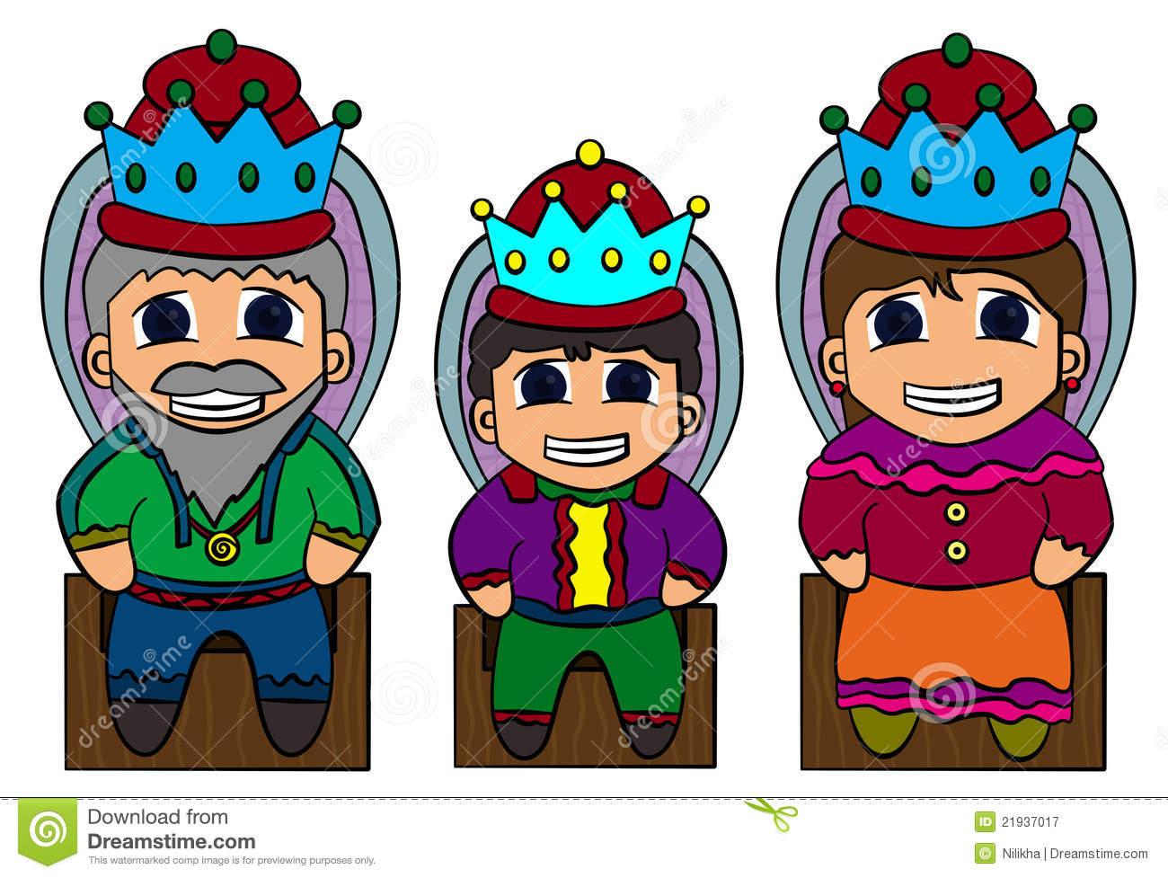 Royal Family Clipart.