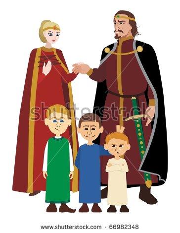 Royal Family Stock Vectors, Images & Vector Art.