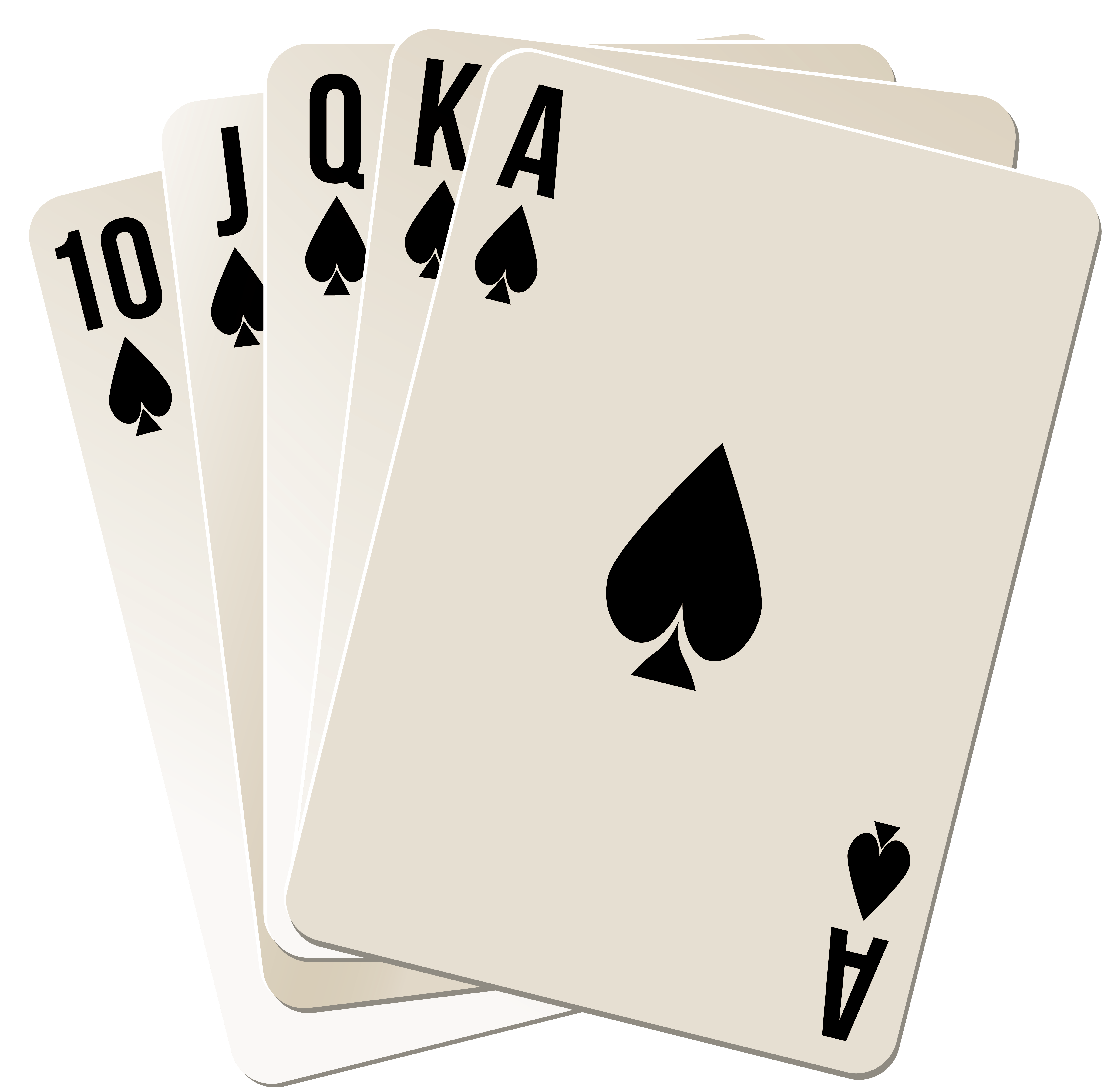 Royal Flush PNG Clipart.