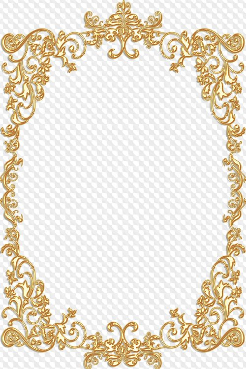 Royal Golden Photo Frames Png , (+) Png Group.