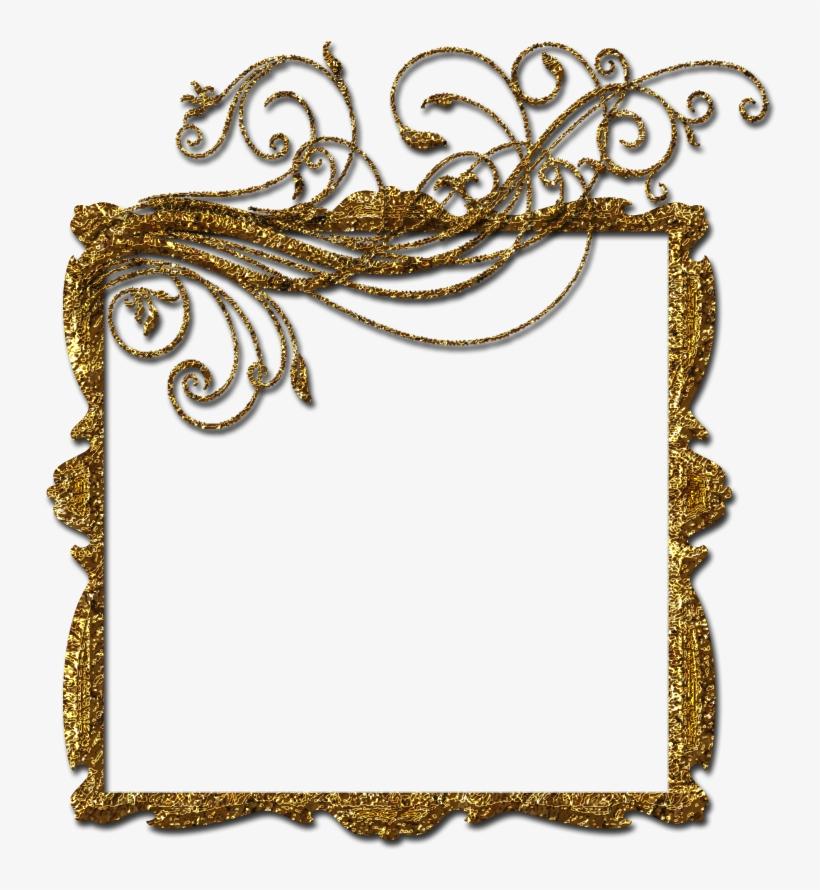 Gold Frame Png.