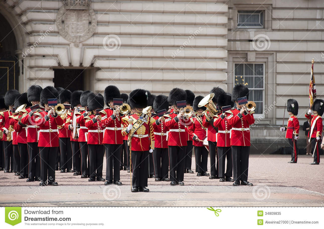 Changing Of The Royal Guard, London Editorial Image.
