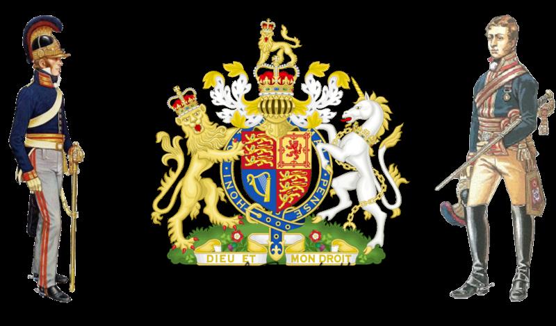 "1st Royal Horse Guards, ""The Blues"" [EU]."