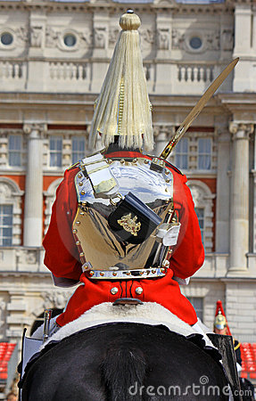 Royal Horse Guard Editorial Stock Image.