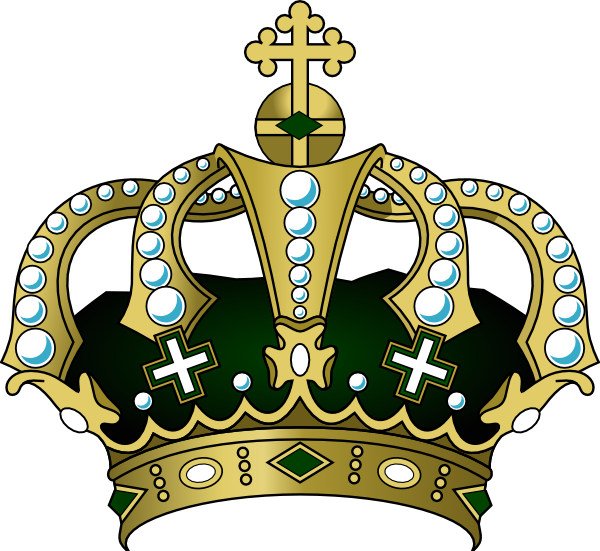 Royal King Crown Clipart.