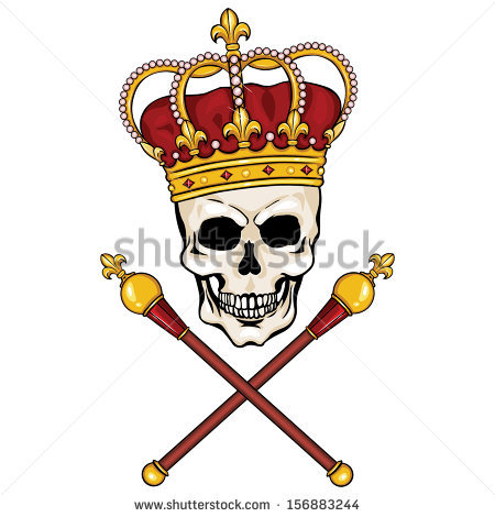 King Scepter Stock Images, Royalty.