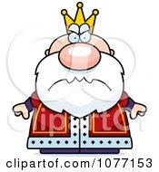 Clipart Mad Royal King.