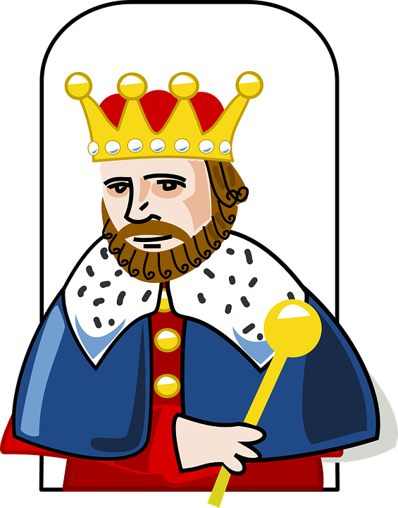 Free vector graphic: King, Crown, Scepter, Robe, Royal.