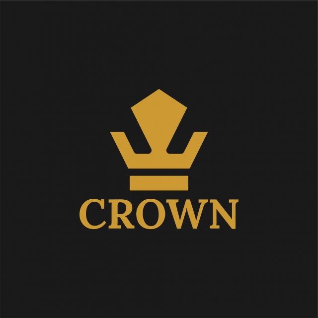 Crown Logo Royal King Abstract Logo Design Vector Template.