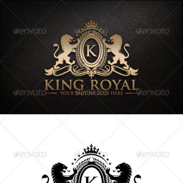 Royal King Logo Graphics, Designs & Templates from GraphicRiver.