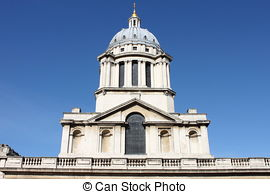 Stock Photographs of Queen Mary Court at the Royal Naval College.