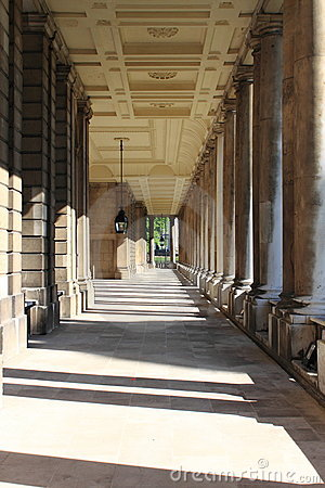 Royal Naval College In Greenwich, London Stock Photography.