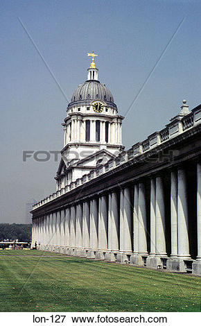 Picture of Colonnade Royal Naval College Greenwich London lon.