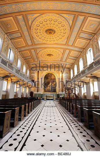 Old Royal Naval College Chapel Stock Photos & Old Royal Naval.