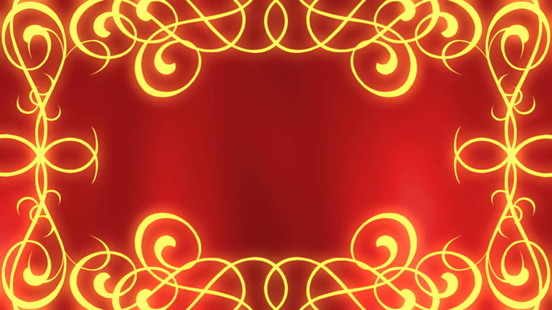 Royal Red Frame Looping Background Motion Background.