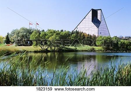 Stock Photograph of The Royal Canadian Mint, Winnipeg, Manitoba.