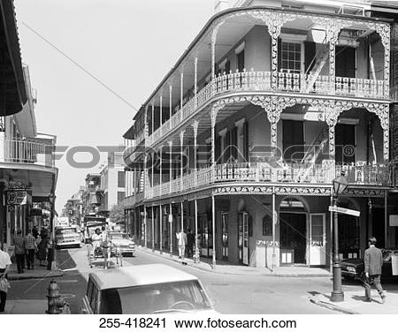 Stock Photography of USA, New Orleans, Royal street 255.