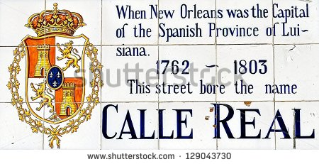 Vintage Royal Street Sign New Orleans Stock Photo 129043730.