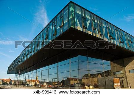 Stock Photo of Det Konglige Teater the Royal theatre exterior in.