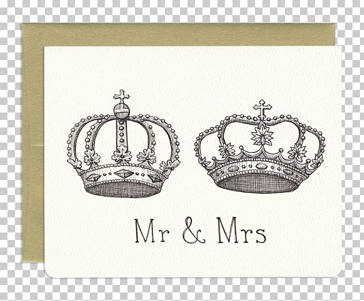 Crown Mrs. Mr. Gotamago Clothing Accessories, Royal Wedding.