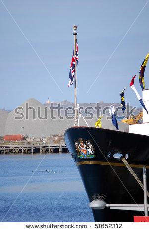 Royal Yacht Britannia Stock Photos, Royalty.