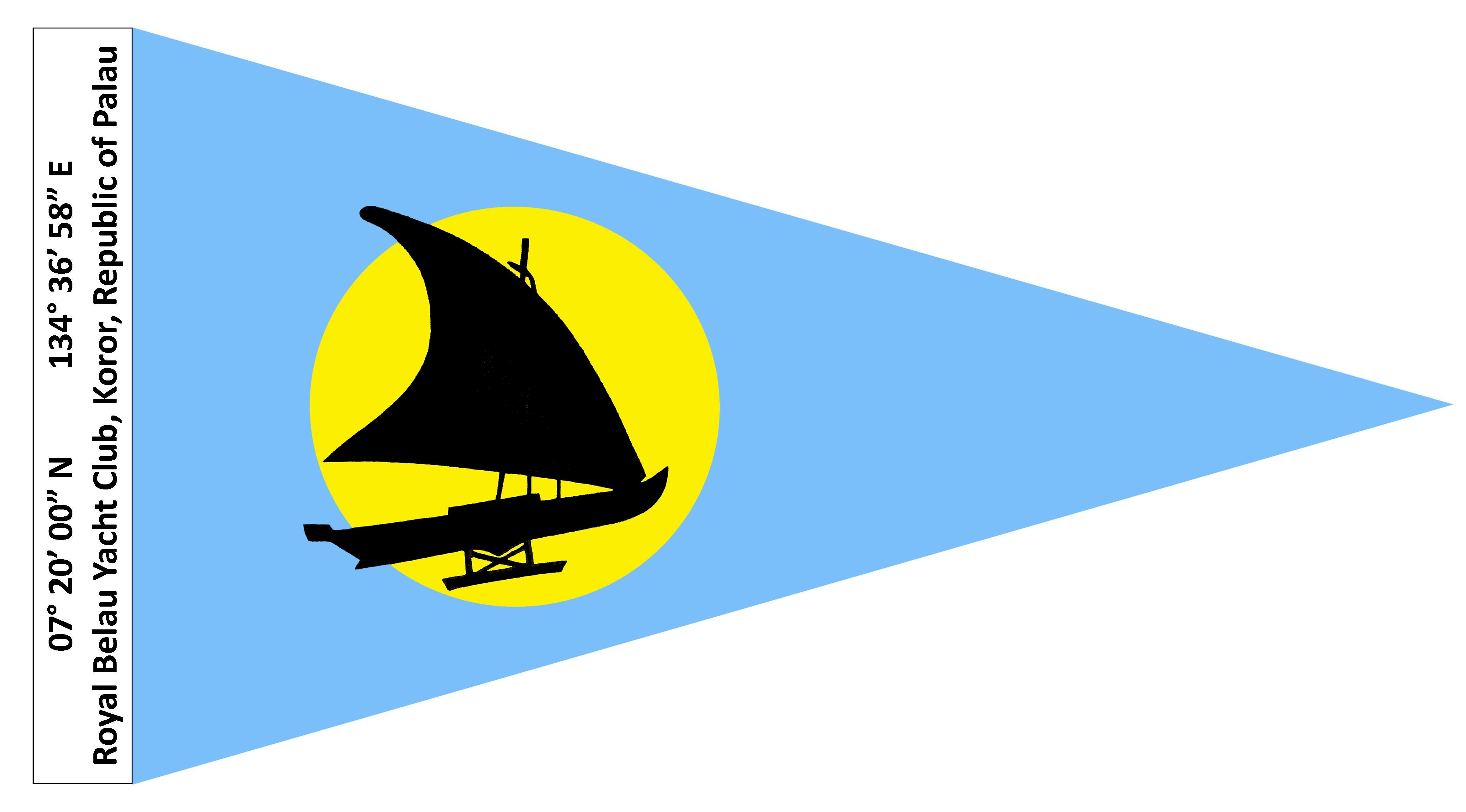 Burgees of Royal Yacht Clubs.