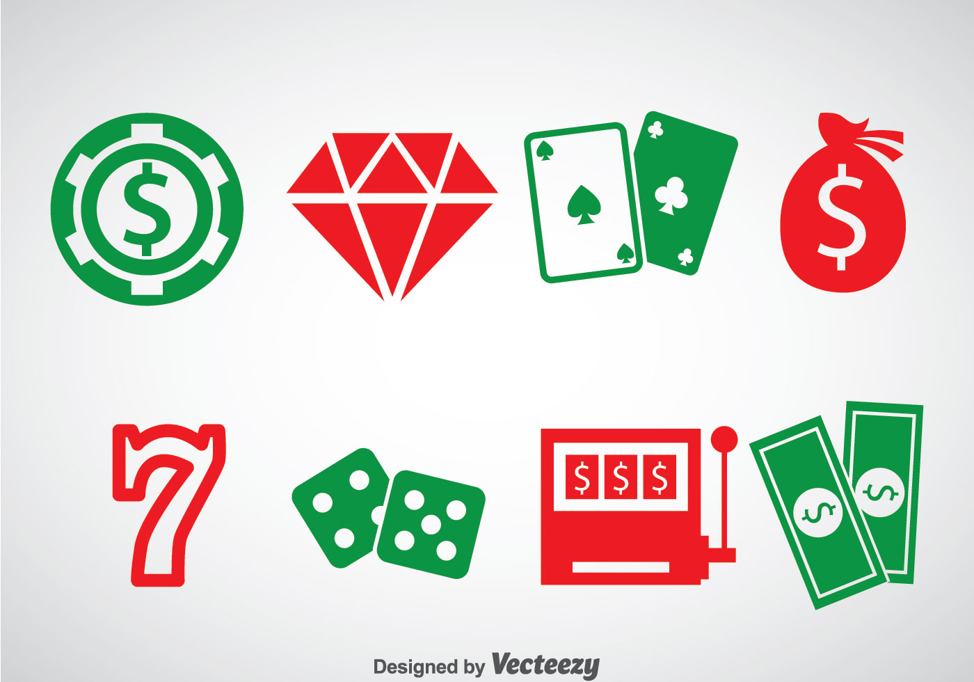 Casino Free Vector Art.