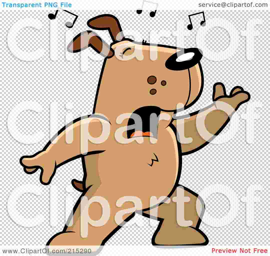 Cliparts Library: Singing Dog Clipart Pictures Royalty Free.