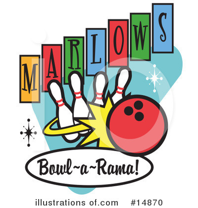 Bowling Clipart #14870.