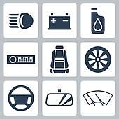 Auto parts Clipart Illustrations. 3,719 auto parts clip art vector.