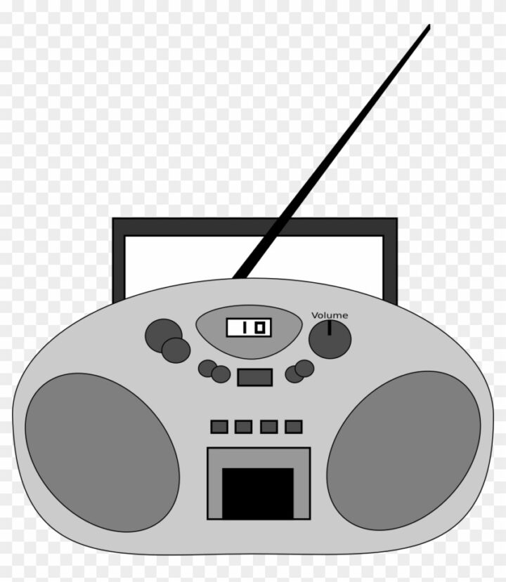 Radio Clipart Vector Clip Art Online Royalty Free Cd Player.