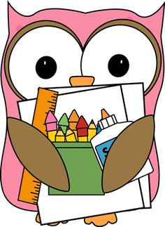 Free owl clip art from mycutegraphics.com.